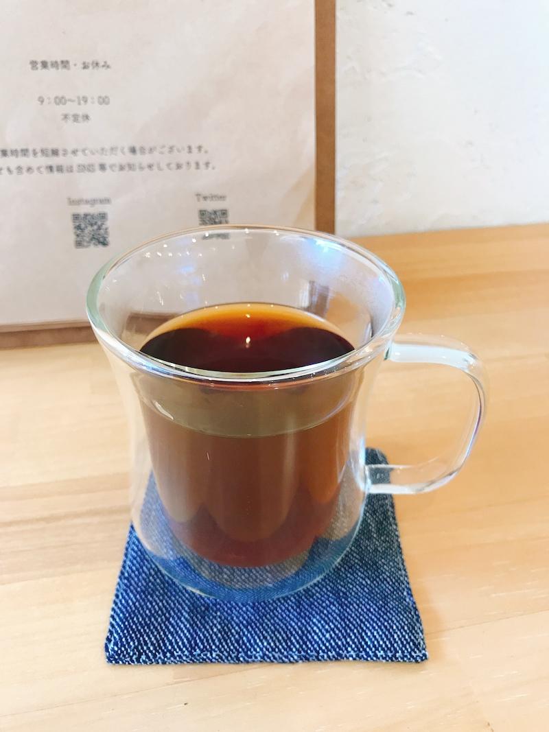 エチオピアの豆を使ったコーヒー